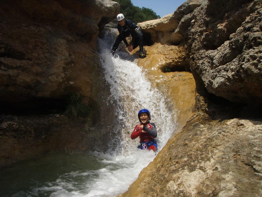 Barranco familiar sierra de Guara