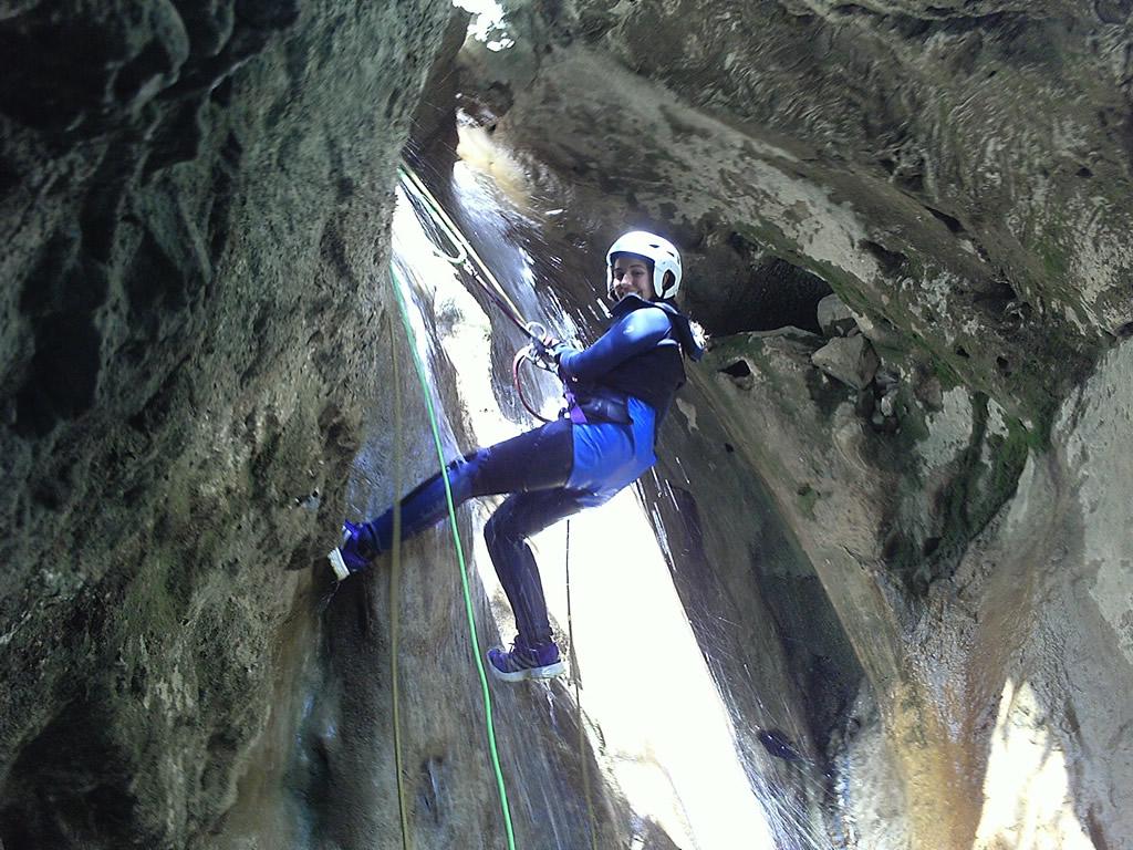 Descenso de Barrancos Huesca Familia