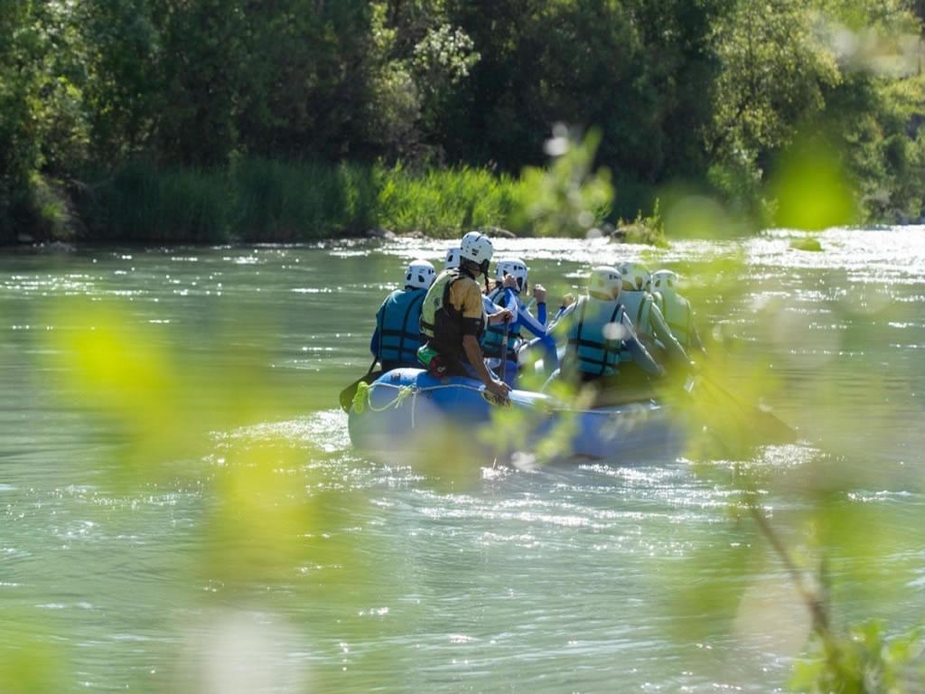 Rafting con niños Huesca