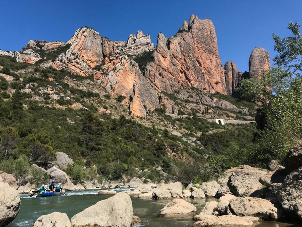 Rafting familiar Huesca