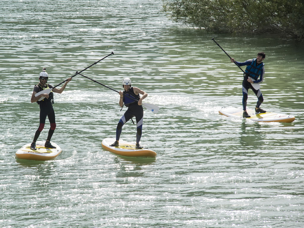 Stand up paddle con niños Huesca