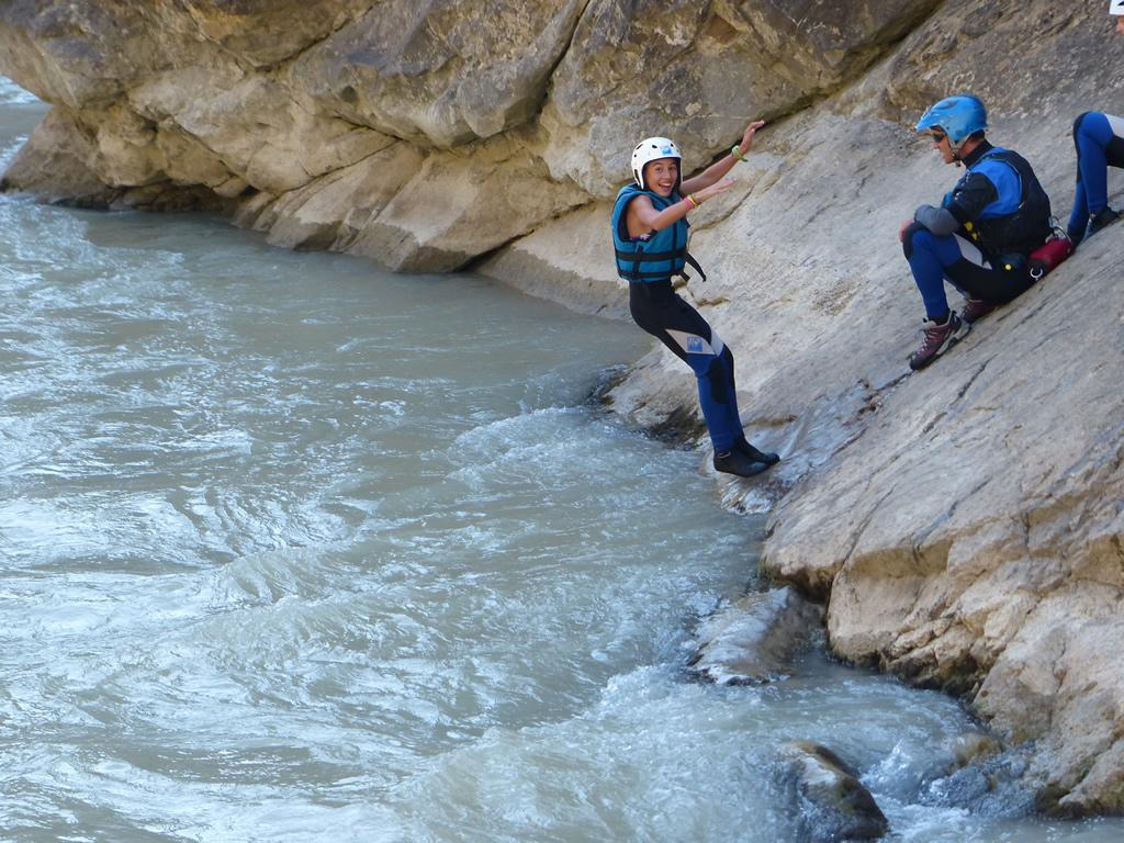 gymkhana multiaventura en familia en el Pirineo de Huesca